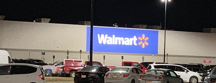 Walmart Supercenter is one of Gregory 님이 좋아한 장소.