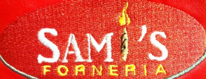 Sami's Forneria is one of สถานที่ที่ Carlos ถูกใจ.