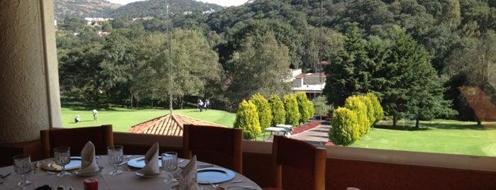 Restaurante Club de Golf Valle Escondido is one of Tempat yang Disimpan Lau.