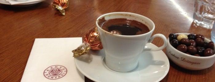 Kahve Dünyası is one of สถานที่ที่ Tanyeli ถูกใจ.