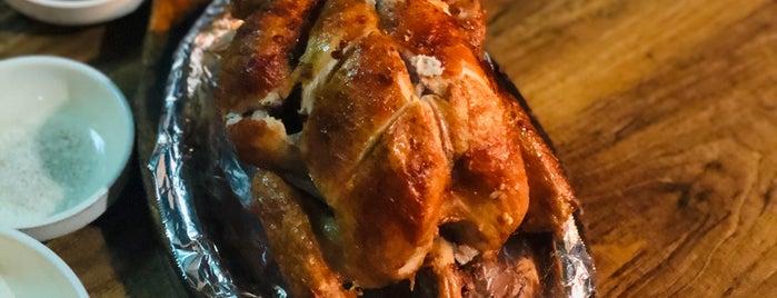 Hannam Oriental Roast Chicken is one of Taipei / Seoul.