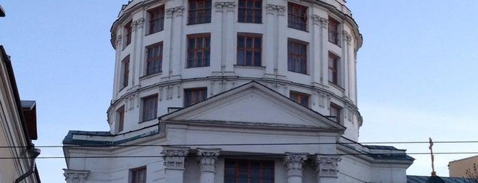 Храм Преподобного Симеона Столпника за Яузой is one of Православные церкви на Таганке.