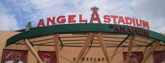 Angel Stadium of Anaheim is one of Best Stadiums.