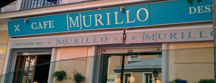 Murillo Café is one of madrid food.