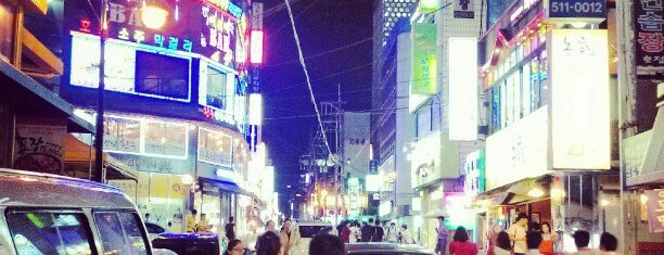 Gangnam is one of Seoul.