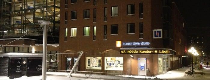 Clarion Hotel Grand Östersund is one of Lieux qui ont plu à Daniel.