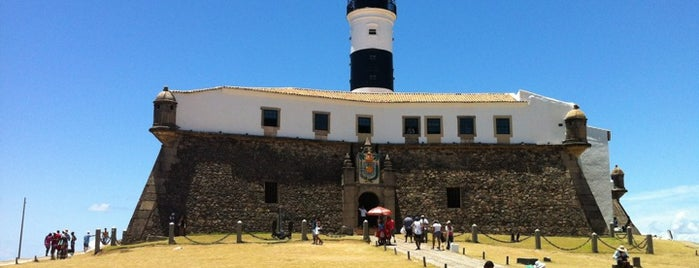 Farol da Barra /  Forte de Santo Antônio da Barra is one of Points de Salvador.