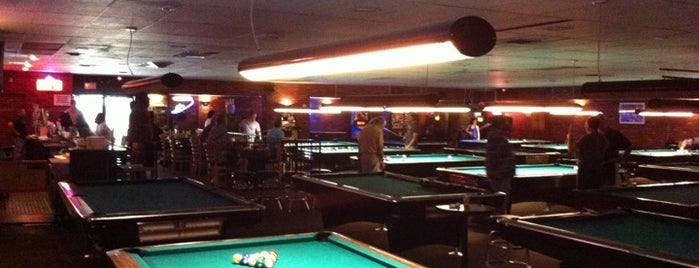 House of Billiards Santa Monica is one of David & Dana's LA BAR & EATS!.
