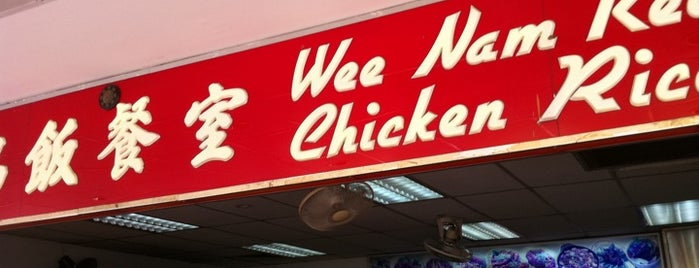 Wee Nam Kee Hainanese Chicken Rice Restaurant is one of Singapore.