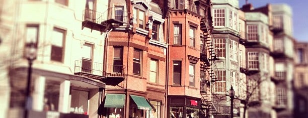 Newbury Street is one of Boston.