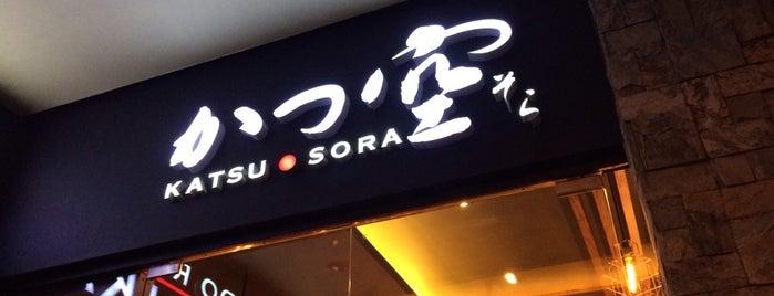 Katsu Sora is one of Angelika : понравившиеся места.