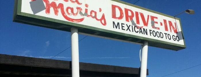 Rosa Maria Drive In is one of Mexican food.