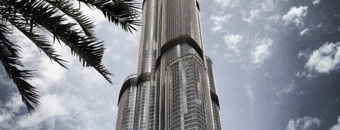 Burj Khalifa is one of The Dog's Bollocks' Dubai.