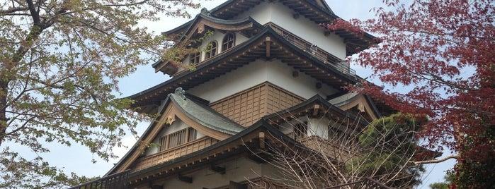 Takashima Castle is one of ドライブ|お城スタンプラリー.