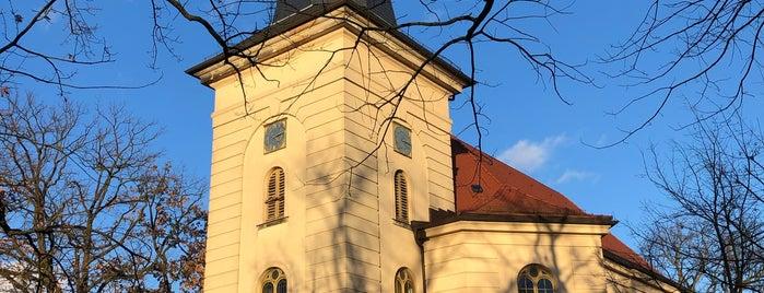 Friedrichskirche is one of Grün und Blau Berlin.