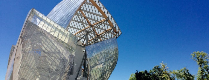 Fondation Louis Vuitton is one of P.