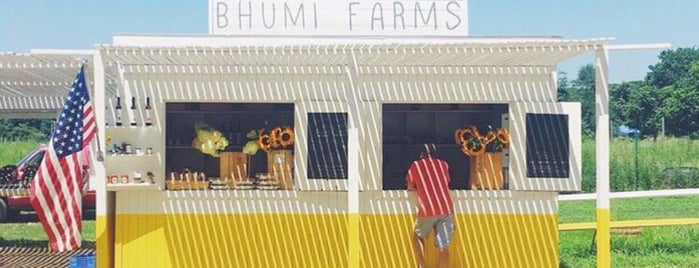 Bhumi Farm's Stand is one of Hamptons.