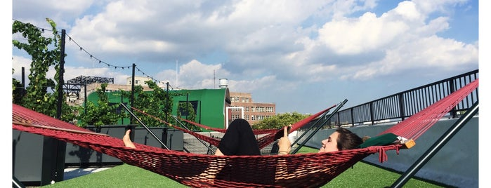 Rooftop Reds is one of NYC's Best Rooftops.
