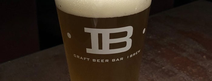 Craft Beer Bar IBREW WIRED is one of Orte, die No gefallen.