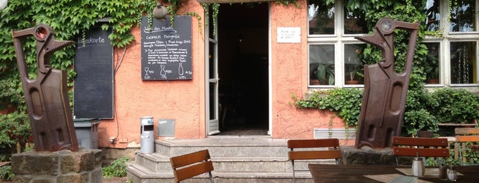 Scheunecafé is one of Vegan Dresden.