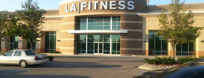 LA Fitness is one of Tempat yang Disukai Devonta.