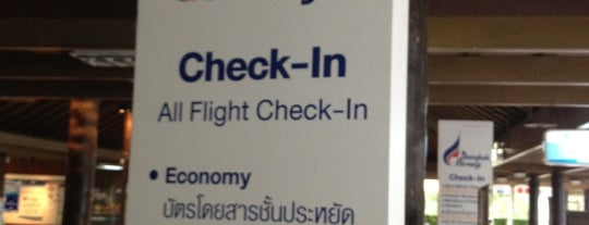 Bangkok Airways Check-In Counter is one of Lieux qui ont plu à Riann.