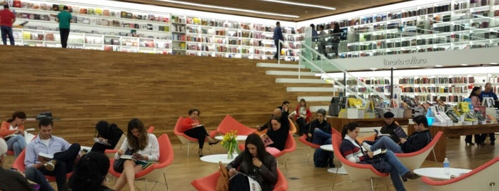 Livraria Cultura is one of Alexandre 님이 좋아한 장소.