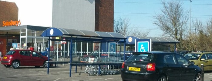 Sainsbury's is one of James's Liked Places.