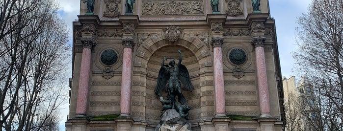 Fontaine Saint-Michel is one of 🇫🇷 Paris.