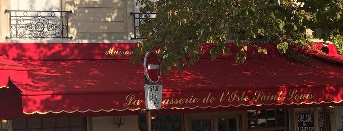 Brasserie de l'Isle Saint-Louis is one of Paris - best spots! - Peter's Fav's.