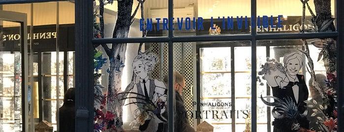 Penhaligon's is one of Paris Shopping Guide.