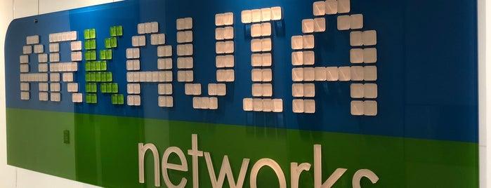 Arkavia Networks is one of Lieux qui ont plu à Alvaro.