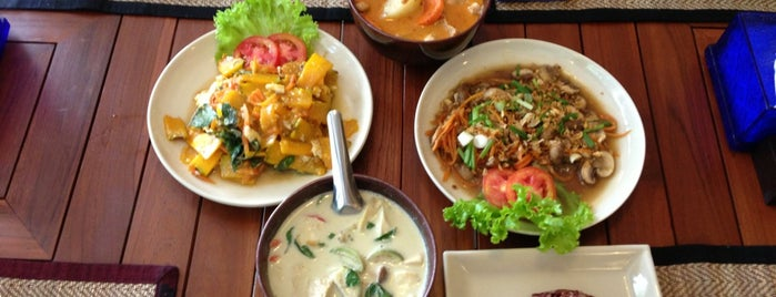 Anchan Vegetarian Restaurant is one of Chiang Mai, Thailand.