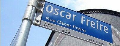 Rua Oscar Freire is one of Sitios Internacionales.
