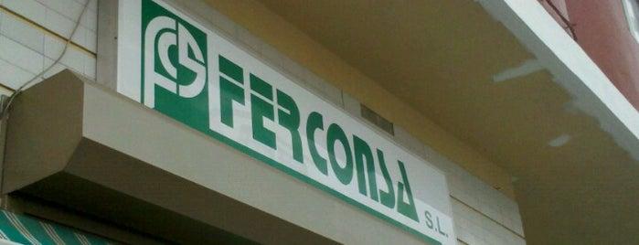 Ferconsa is one of Ferreterías de Canarias.