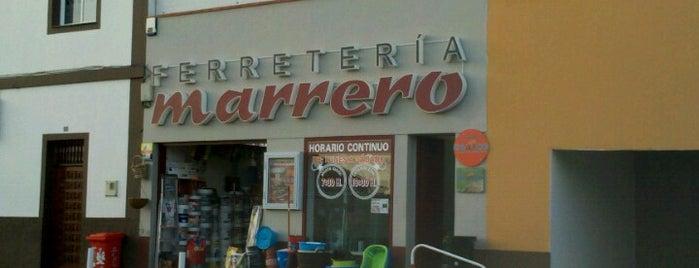 Ferretería Marrero is one of Ferreterías de Canarias.