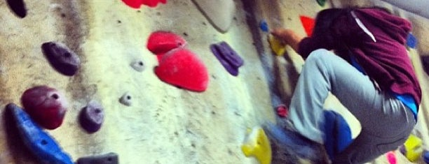 The Factory Bouldering and Yoga is one of Tempat yang Disukai Krista.