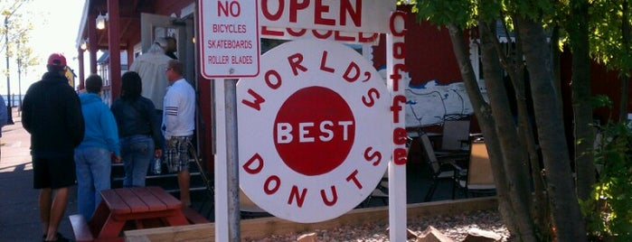 World's Best Donuts is one of Grand Marais!.