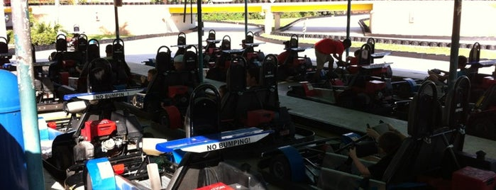 Go Karts is one of Activities for Families.