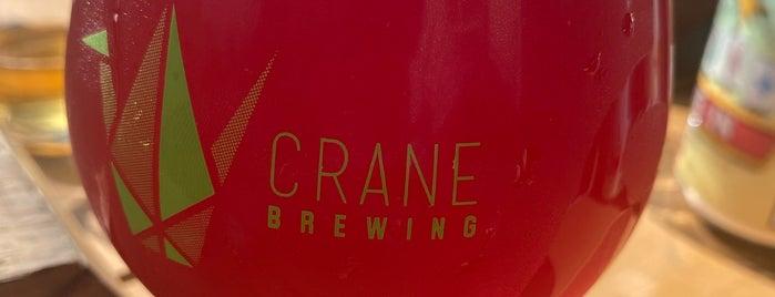 Crane Brewing Company is one of Posti che sono piaciuti a Sherry.