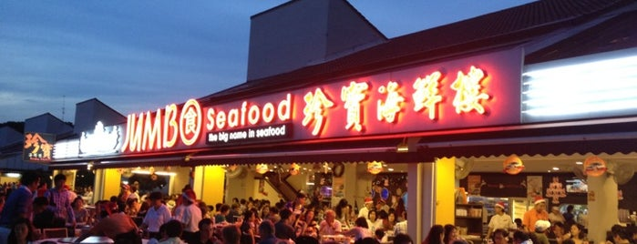 Jumbo Seafood Restaurant 珍宝海鮮樓 is one of Lugares favoritos de Paolo.
