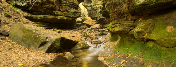 Parfrey's Glen Natural Area is one of Beautiful Hikes.