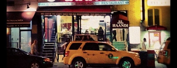 Haandi is one of Halal Spots in NYC.