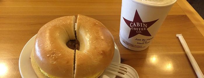 Cabin Coffee is one of สถานที่ที่บันทึกไว้ของ Jenna.