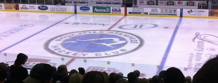 Sioux Falls Arena is one of Orte, die Dan gefallen.