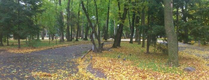 Центральний міський парк Вінниці is one of Illiaさんのお気に入りスポット.
