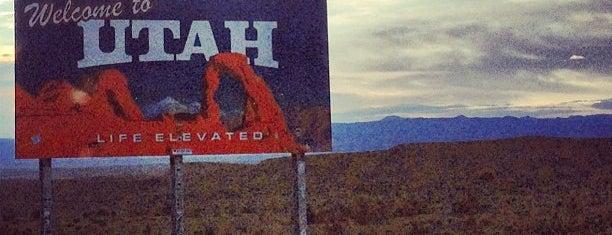 Colorado-Utah State Line is one of Ryan : понравившиеся места.