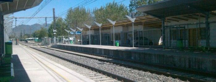 Estación Hospital is one of Estaciones Metrotrén y Expreso Maule.