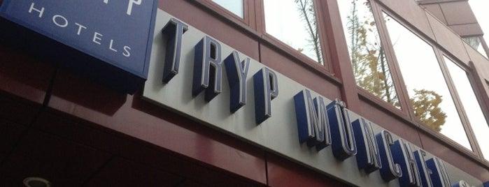 Tryp Hotel München is one of Posti che sono piaciuti a Леонид.