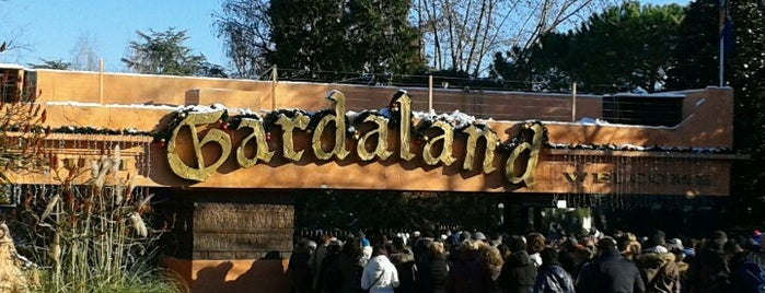 Gardaland is one of Lieux qui ont plu à Thomas J..
